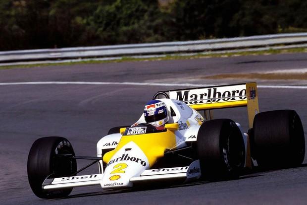 Keke Rosberg com a McLaren no GP de Portugal de 1986 (Foto: Divulgação)