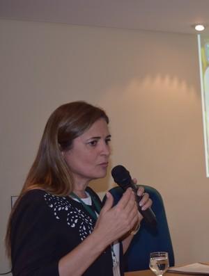 Louise Bedé eleição CBFS (Foto: Divulgação/CBFS)