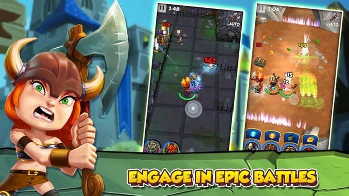 Guerreiros malucos vão duelar em um divertido game para iPhone e iPad (Foto: Divulgação / Kongregate)