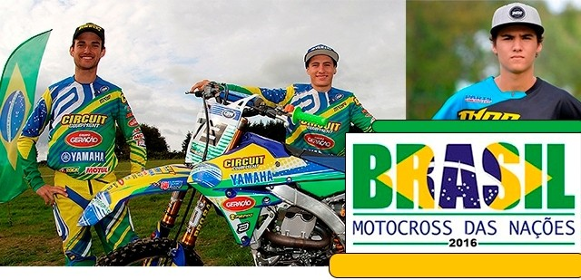 BLOG: Motocross das Nações - Time brasileiro viaja neste sábado para o Nações 2016...