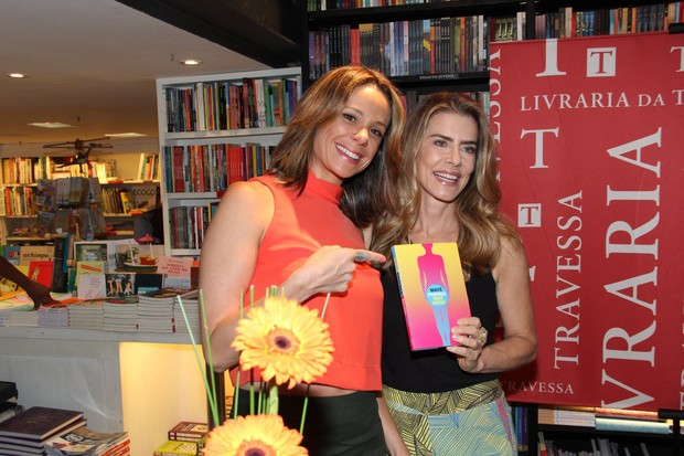 Vanessa Gerbelli e Maitê Proença (Foto: Alex Palarea/AgNews)