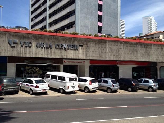 Victória Center Salvador Bahia (Foto: Germam Maldonado/TV Bahia)