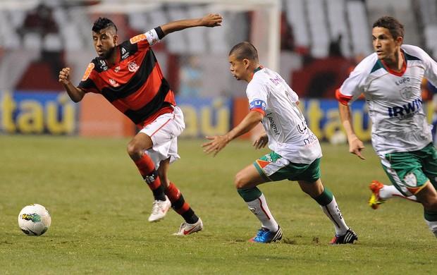 Leo Moura, Flamengo x Portuguesa (Foto: Alexandre Vidal / Fla Imagem)