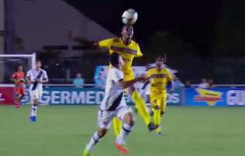 "Bola mal recuada de Jorge Felipe, do Madureira, leva ""garrancho"" da rodada"