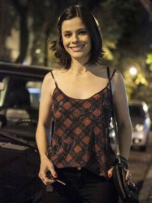 Bellatrix participa de Dupla Identidade (Foto: Inácio Moraes/TV Globo)