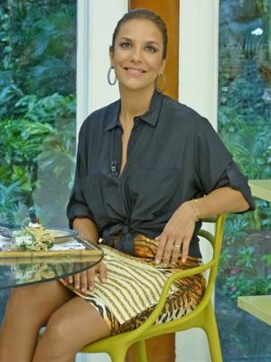 Ivete Sangalo participa do Mais Você (Foto: Mais Você / TV Globo)