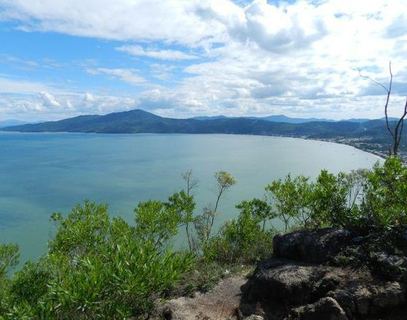 Vista do Morro do Macaco (Foto: Secretaria de Turismo/Divulgação)