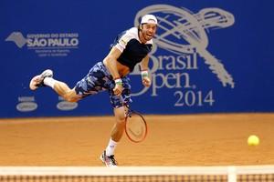 tênis paolo lorenzi brasil open (Foto: Wander Roberto / Inovafoto)