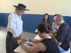 Eleitores votam no Brasil e no Uruguai  (Reprodução/RBS TV)