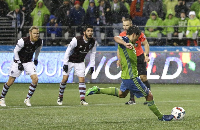 Nicolás Lodeiro Seattle Sounders x Colorado Rapids MLS (Foto: AP)
