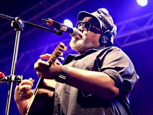 O sambista Jorge Aragão, que se apresenta neste sábado em Brasília (Foto: Gabriel Silva/Divulgação)