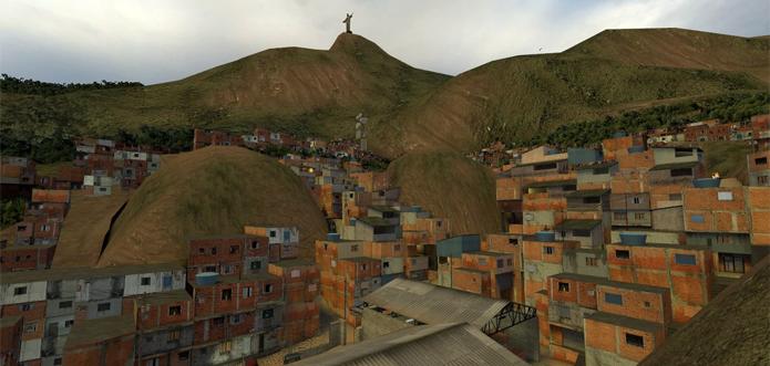 Fãs criaram mapa que trouxe os animados combates de Counter Strike para as favelas cariocas (Foto: Reprodução/YouTube)