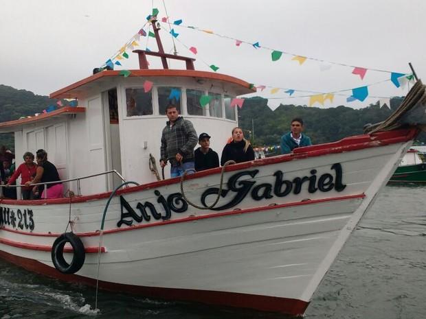 Embarcação Anjo Gabriel fez último contato na sexta-feira (29) (Foto: Arquivo Pessoal)