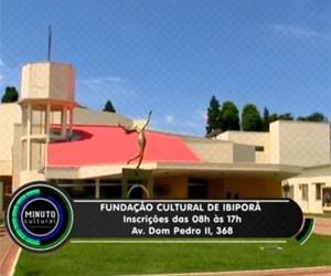 """""""Cursos Gratuitos da Fundação Cultural de Ibiporã"""" (Foto: Divulgação)"""