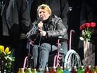 Yulia Timoshenko chega à Alemanha para tratamento médico