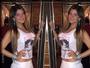 Vovó sarada, Cristiana Oliveira coloca a barriguinha de fora