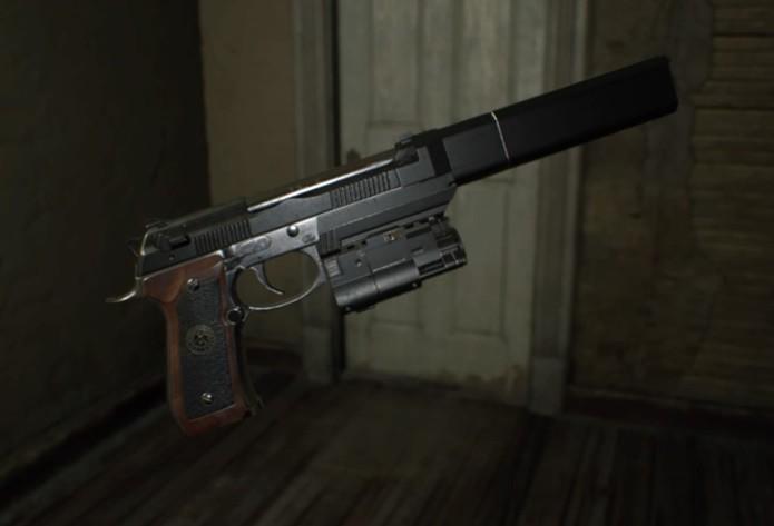 Arma especial de Resident Evil 7 é uma das mais eficazes do game (Foto: Reprodução/Felipe Demartini)