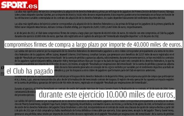 neymar barcelona documento (Foto: sport.es)