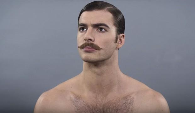 A evolução do grooming masculino (Foto: Reprodução)