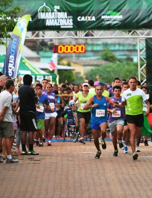Meia Maratona Amazonas (Foto: Michel Dantas/Sejel)
