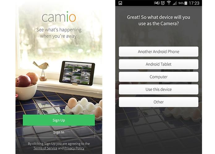 Camio é compatível com Android e iOS (Foto: Reprodução/Barbara Mannara)