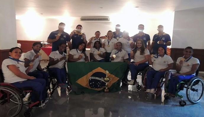 basquete paralímpico brasil sul-americano (Foto: Divulgação / CPB)