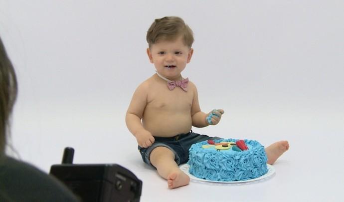 Mais Diário mostra o Smash The Cake (Foto: Reprodução / TV Diário )