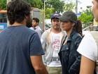 Elenco roda cenas de Salve Jorge em ruas do Rio de Janeiro