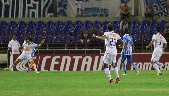Dagoberto, Léo, Everton, Cruzeiro, CSA, Rei Pelé, Copa do Brasil (Foto: Ailton Cruz / Vipcomm)