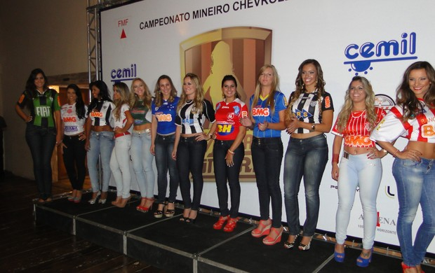 Evento de lançamento do Musas do Mineiro (Foto: Lucas Catta Prêta)