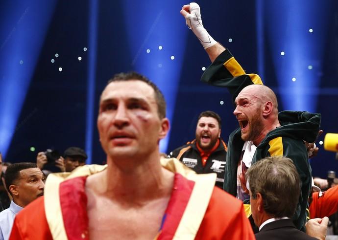 Tyson Fury X Wladimir Klitschko boxe (Foto: Reuters)