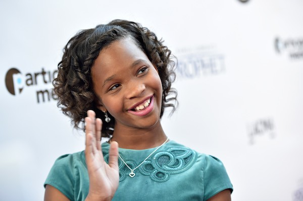 A atriz Quvenzhane Wallis (Foto: Getty Images)