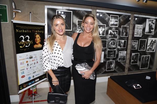 Camila Alfradique e Danielle Winits (Foto: Felipe Assumpção e Alex Palarea  / AgNews)