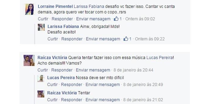 The Voice Kids - Veja os comentários sobre o vídeo 'Cup Song', da paranaense Rafa Gomes (Foto: Reprodução)