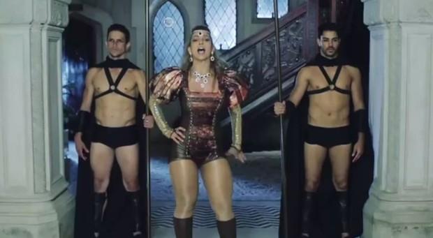 Teaser do novo clipe de Valesca Popozuda (Foto: Video/Reprodução)