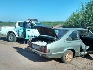 Carros Araras (Foto: Polícia Ambiental/Divulgação)