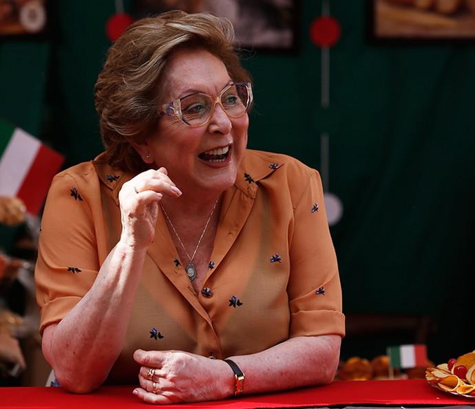 Aracy Balabanian é a amorosa nonna Geppina (Foto: Ellen Soares / Gshow)