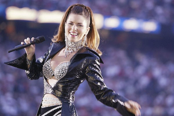A cantora Shania Twain (Foto: Getty Images)