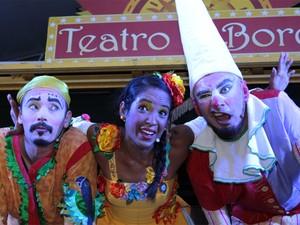 Espetáculo De Sol a Sol do evento Teatro a Bordo em Hortolândia (Foto: Toto Cottone)