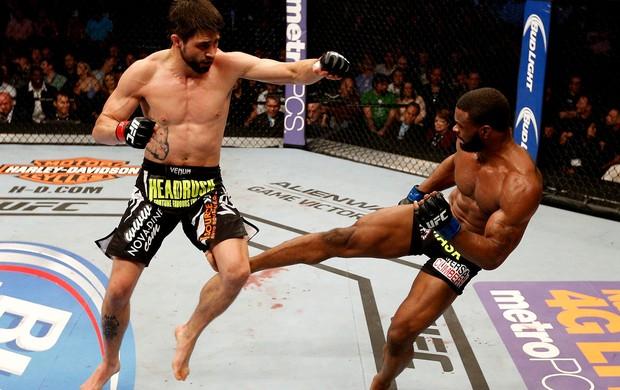 UFC  Carlos Condit e Tyron Woodley (Foto: Agência Getty Images)
