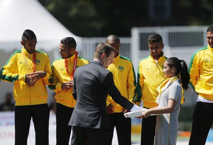Brasil ouro futebol de 7 Parapan (Foto: Marcelo Regua/MPIX/CPB)
