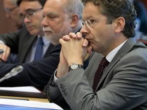 Jeroen Dijsselbloem diz que Grécia fechou as portas para negociação (Foto: AP Photo/Virginia Mayo)