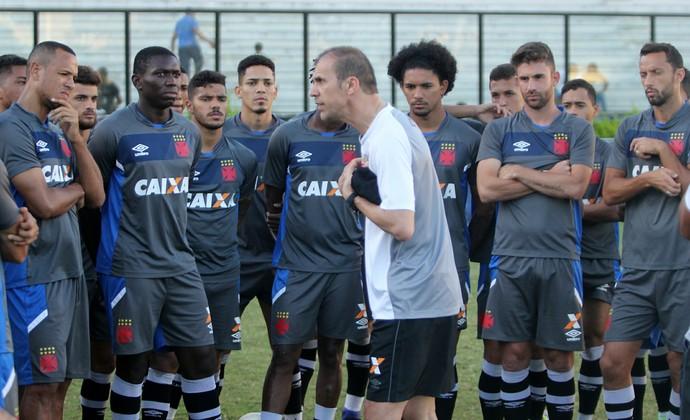 Treino do Vasco, Milton Mendes (Foto: Paulo Fernandes/Vasco.com.br)
