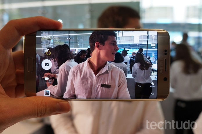 Câmera do Galaxy S6 Edge Plus (Foto: Thássius Veloso/TechTudo)