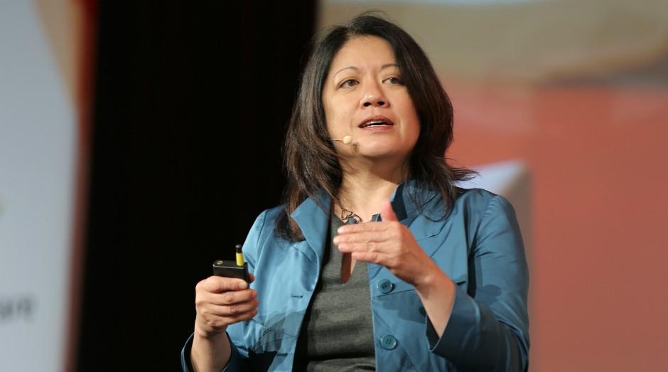 Charlene Li durante o HSM Summit 2017 em São Paulo (SP) (Foto: Divulgação)