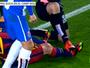 Jornal: jogadores de Barça e Espanyol brigaram no túnel depois do clássico