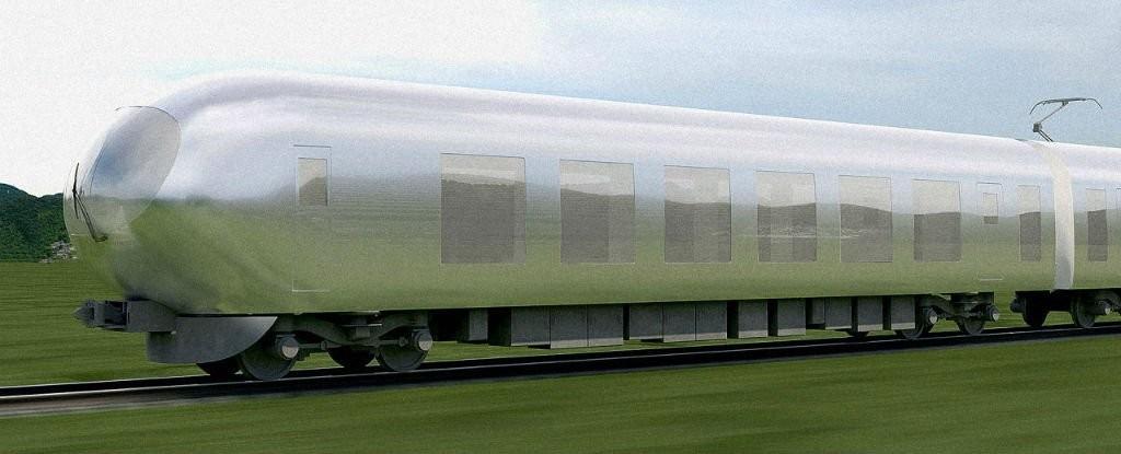 Japão prepara lançamento de trem invisível para 2018