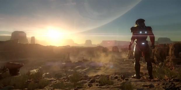 """Conferência da EA na E3 começa com o anúncio de """"Mass Effect: Andromeda"""" (Foto: Reprodução/Twitch)"""