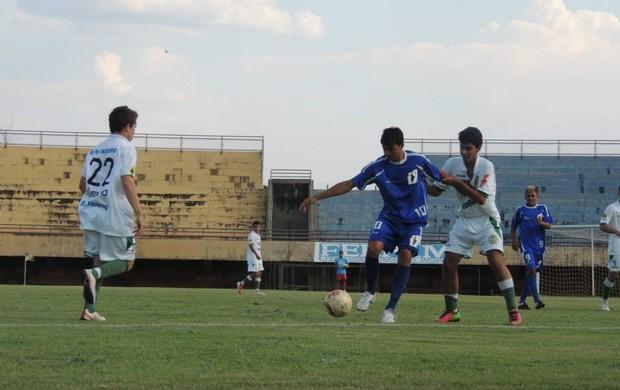 A partida entre Inove e Gurupi, no estádio Nílton Santos, terminou em 4 a 1 (Foto: Gil Correia/Arquivo Pessoal)