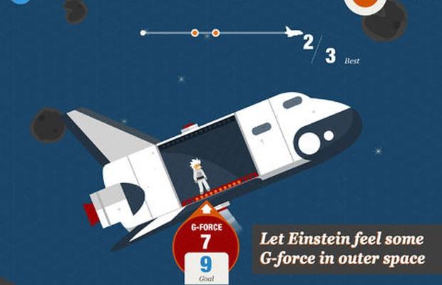 """Aplicativo para iPads,  """"Snapshots of the Universe"""",  do físico britânico Stephen Hawking, 71, explica leis que regem o universo. (Foto: Divulgação/Google)"""